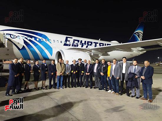 الطائرة الرابعة إيرباص A320neo تصل مطار القاهرة (5)