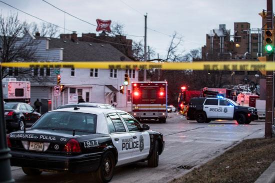 الشرطة تطوق محيط إطلاق النار