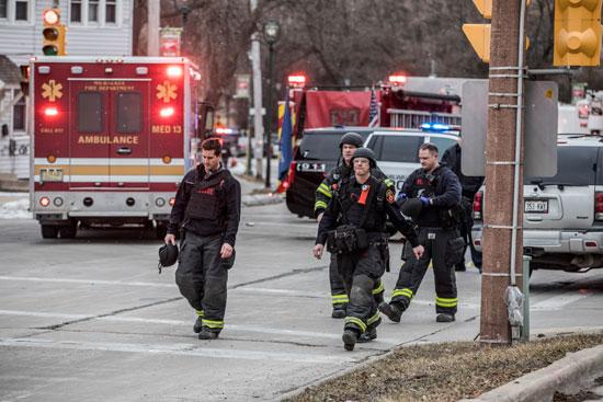 الشرطة الأمريكية تحقق في حادث إطلاق نار في ولاية ويسكونسن