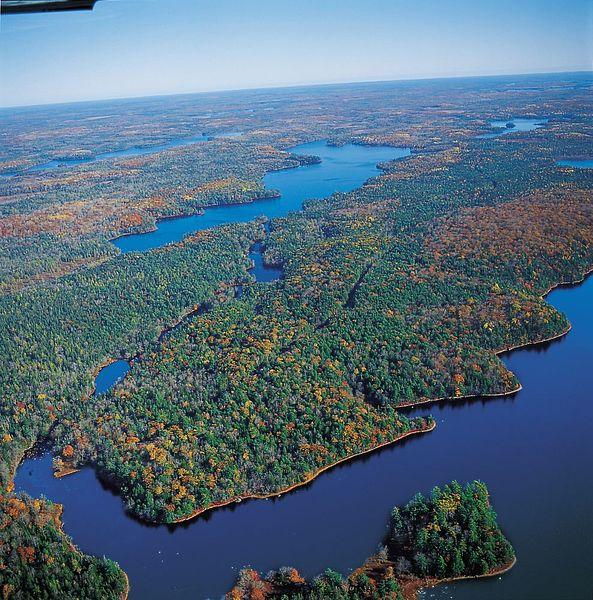 Lake properties on Canoe Lake