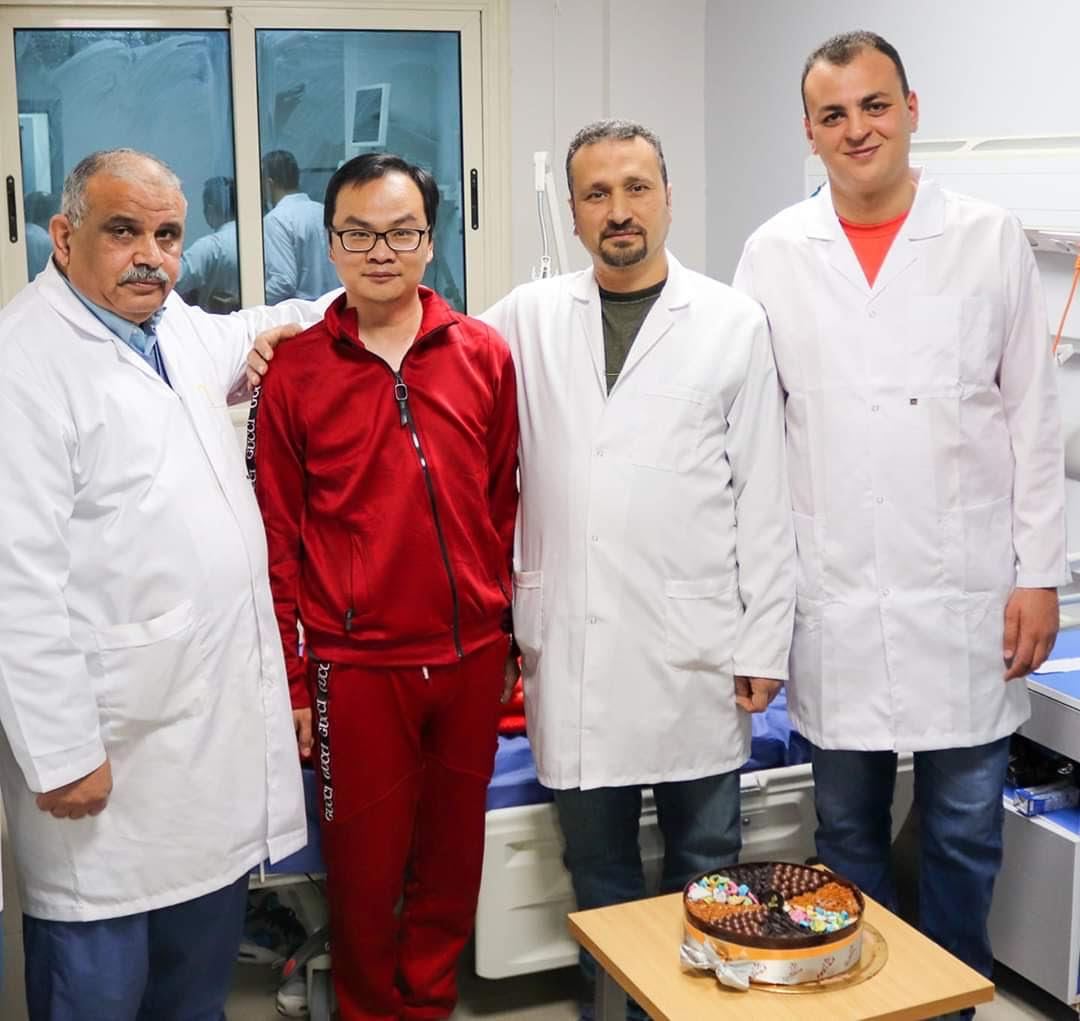 الصينى المتعافى من فيروس كورونا