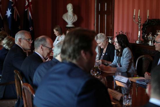 محادثات-بين-الوفد-النيوزلندى-والحكومة-الأسترالية