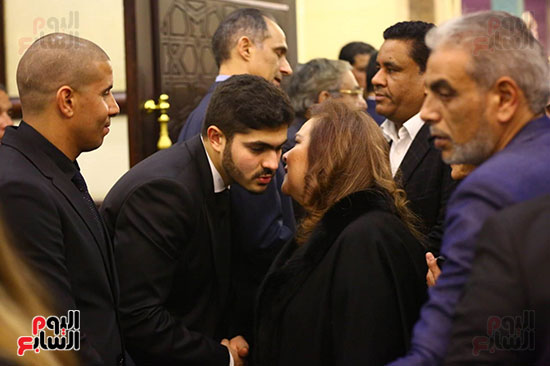 عزاء محمد حسنى مبارك (3)