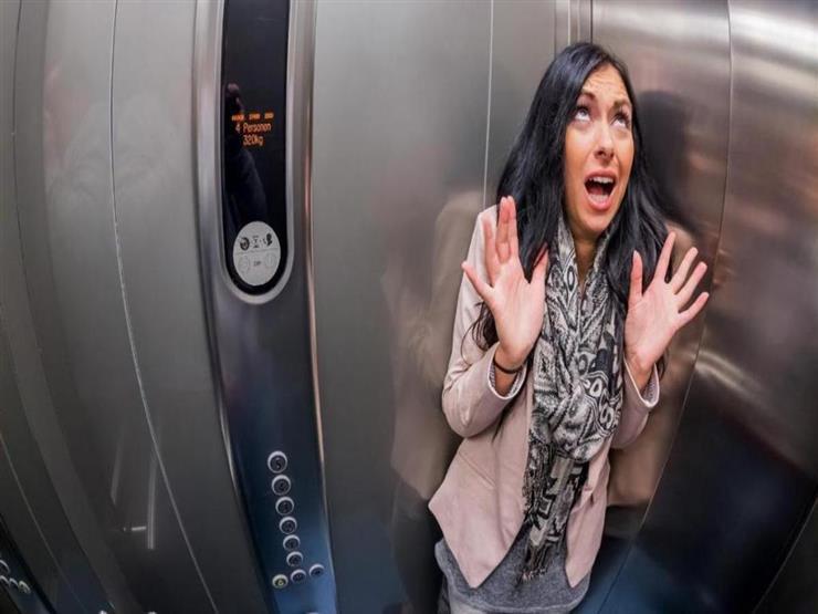 تعطل مصعد