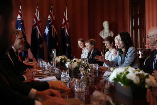 مفاوضات-نيوزلندية-أسترالية-بسيدنى