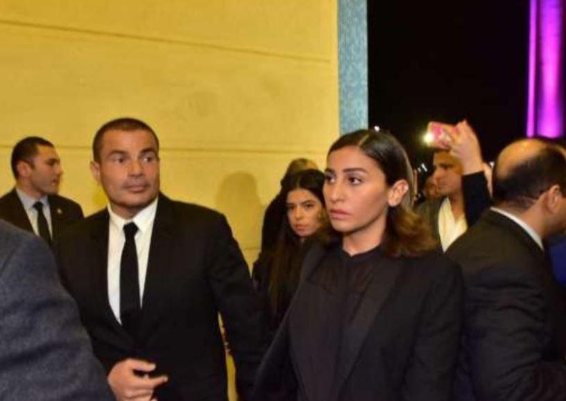 عمرو دياب ودينا الشربينى (2)