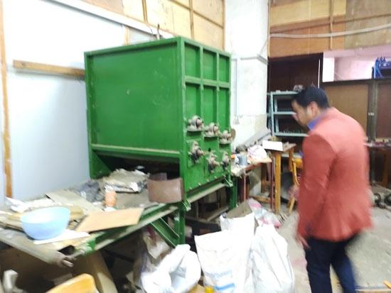 لقمامة تتحول لنعمة داخل هندسة طنطا (32)