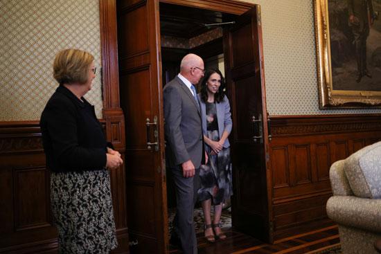 رئيسة-وزراء-نيوزلندا-تلتقى-الحاكم-العام-بأستراليا