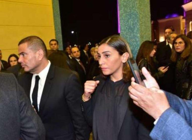 عمرو دياب ودينا الشربينى (1)