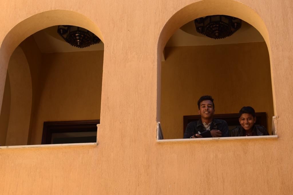 تصميم مميز لمقر قصر ثقافة حاجر العديسات بالاقصر (2)