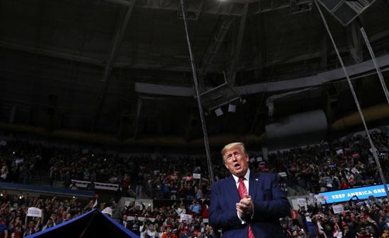 ترامب فى ولاية ساوث كارولينا
