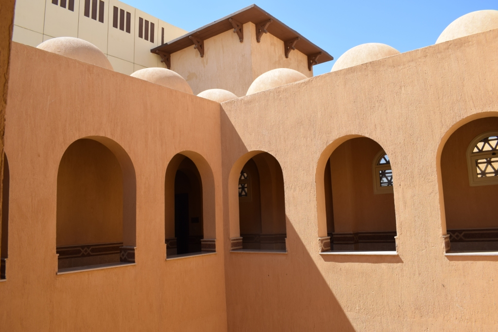 تصميم مميز لمقر قصر ثقافة حاجر العديسات بالاقصر (1)