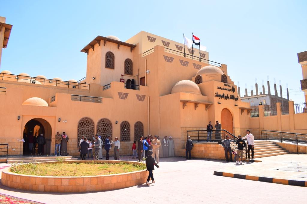 تصميم مميز لمقر قصر ثقافة حاجر العديسات بالاقصر (5)