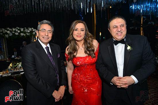 رجل الأعمال إيهاب طلعت والإعلامى محمود سعد