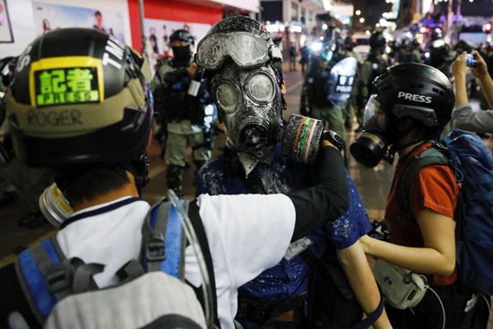العنف فى هونج كونج