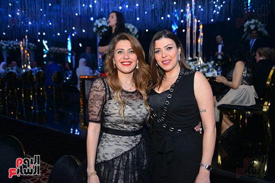 الإعلامية شريهان أبو الحسن والفنانة هايدى كرم