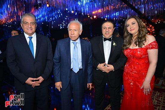 رجل الأعمال إيهاب طلعت والإعلامى أسامة كمال