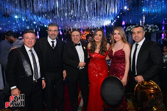 رجل الأعمال إيهاب طلعت والإعلامى عمرو الليثى وآخرين