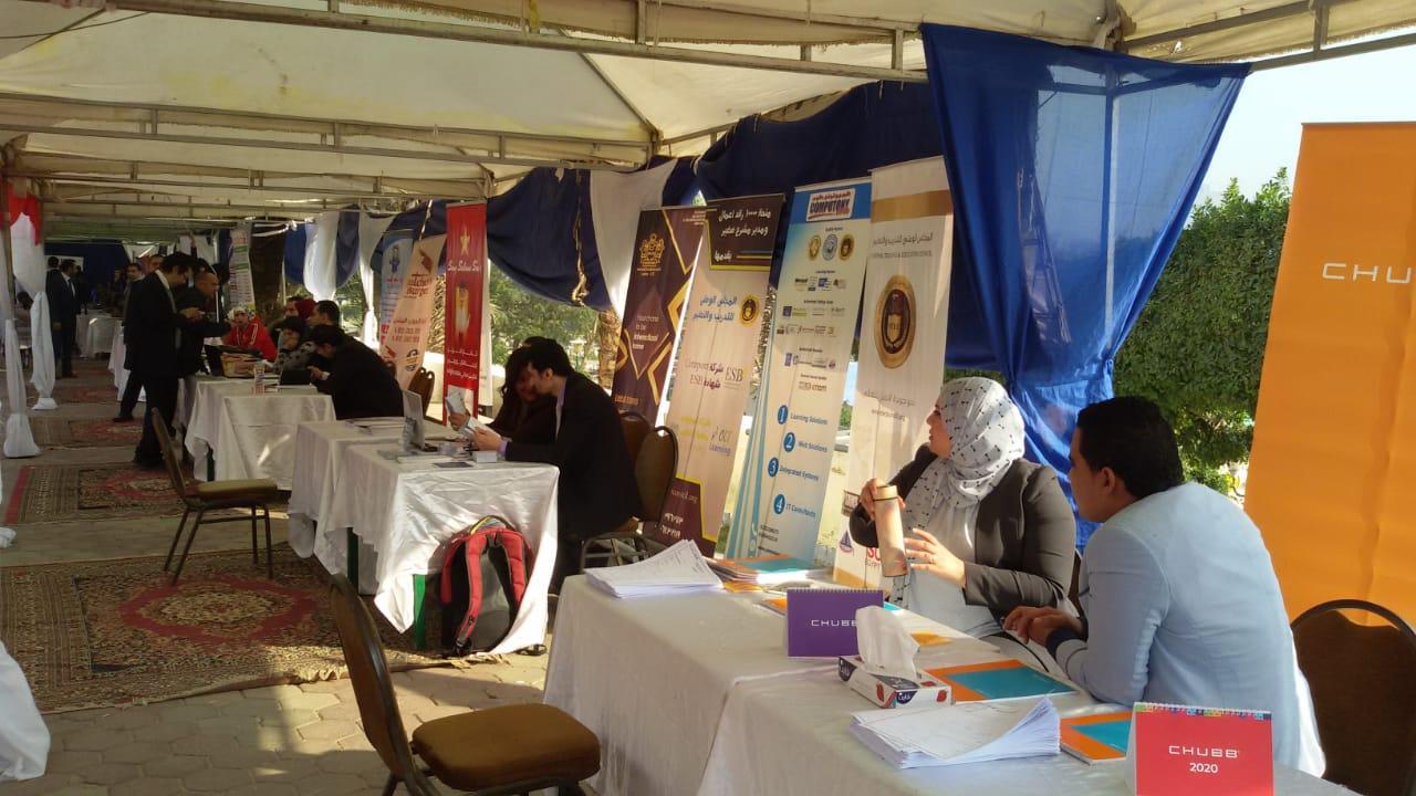 ملتقى التوظيف الأول لمحافظة القاهرة  (4)
