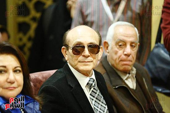 محمد صبحي يبدأ ندوته بمعرض الكتاب (11)