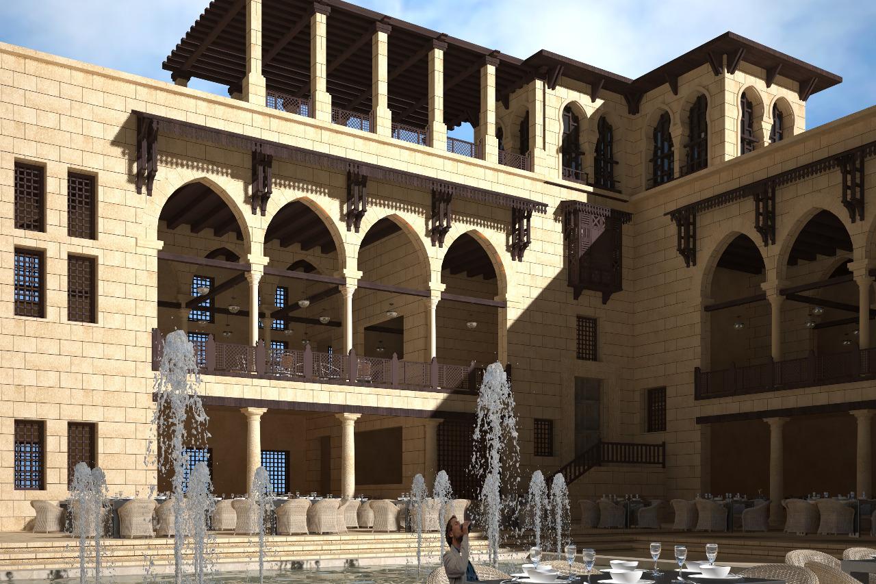 مباني سور مجري العيون بعد التطوير