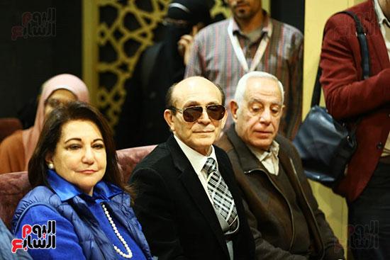 محمد صبحي يبدأ ندوته بمعرض الكتاب (12)