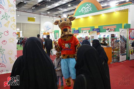 وسائل ترفيهية مخصصة للأطفال بمعرض الكتاب
