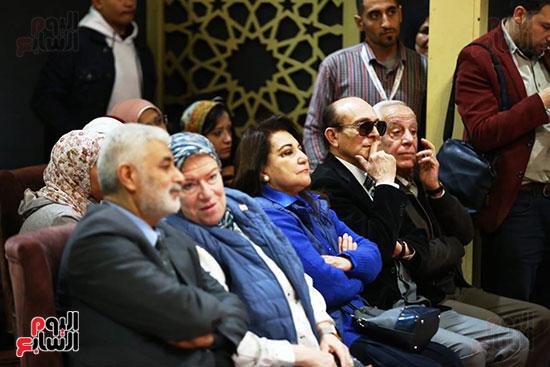 محمد صبحي يبدأ ندوته بمعرض الكتاب (22)