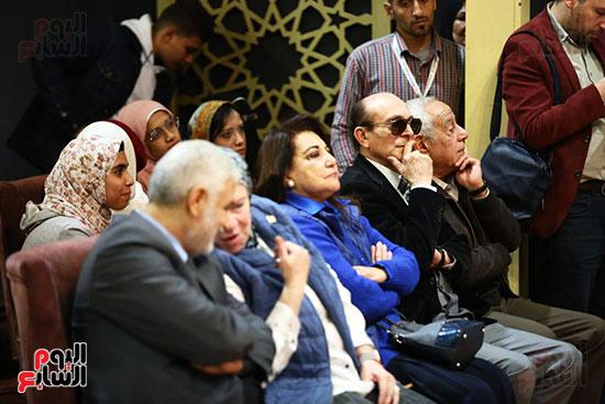 محمد صبحي يبدأ ندوته بمعرض الكتاب (26)