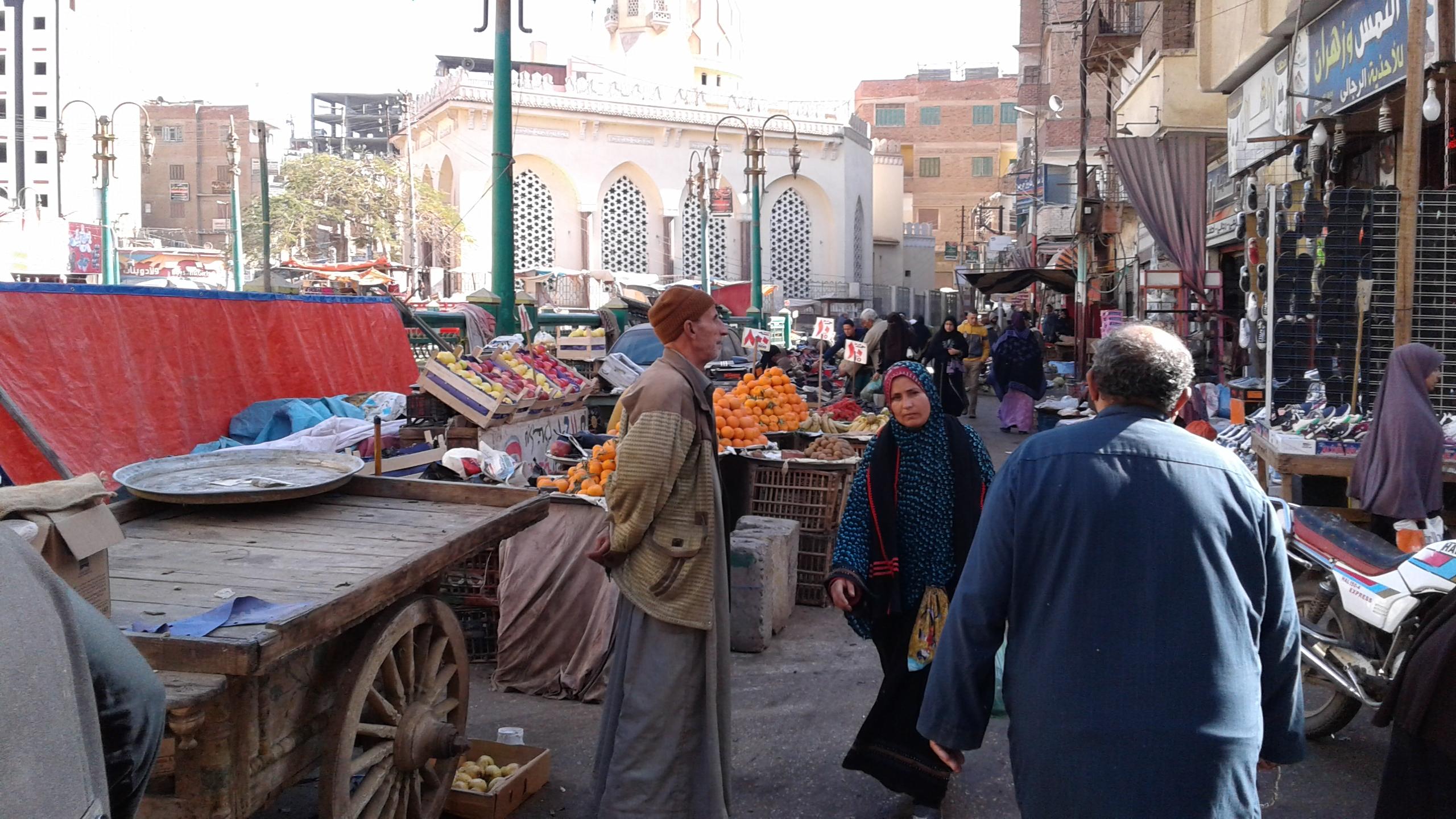 أسواق الخضر والفاكهة بمحافظة المنوفية (1)