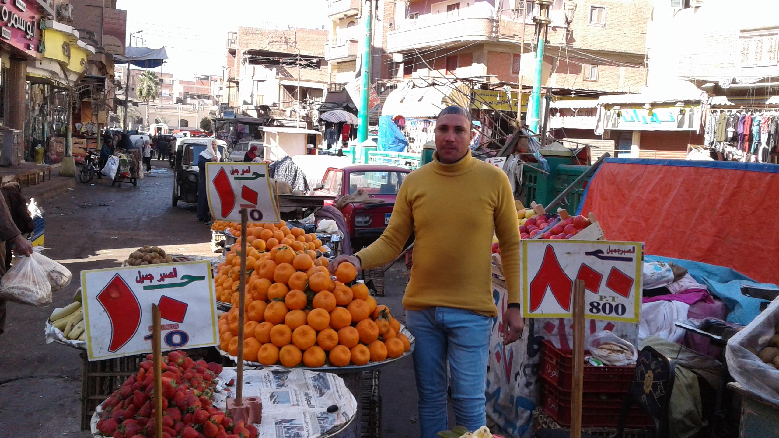 أسواق الخضر والفاكهة بمحافظة المنوفية (2)