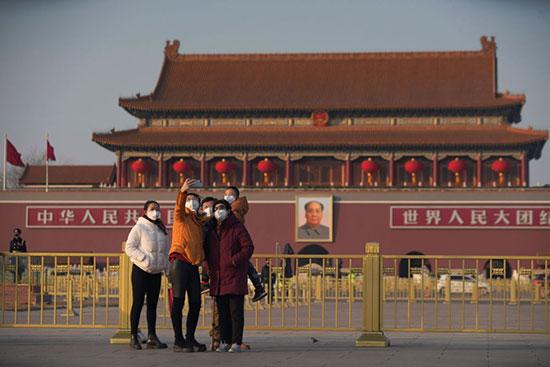 السياح فى بكين