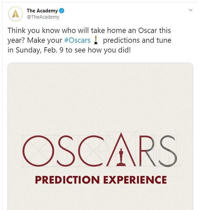 تغريدة الأوسكار الثانية