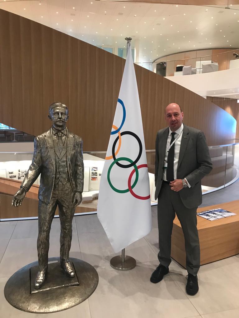 شريف العريان فى الاولمبية الدولية