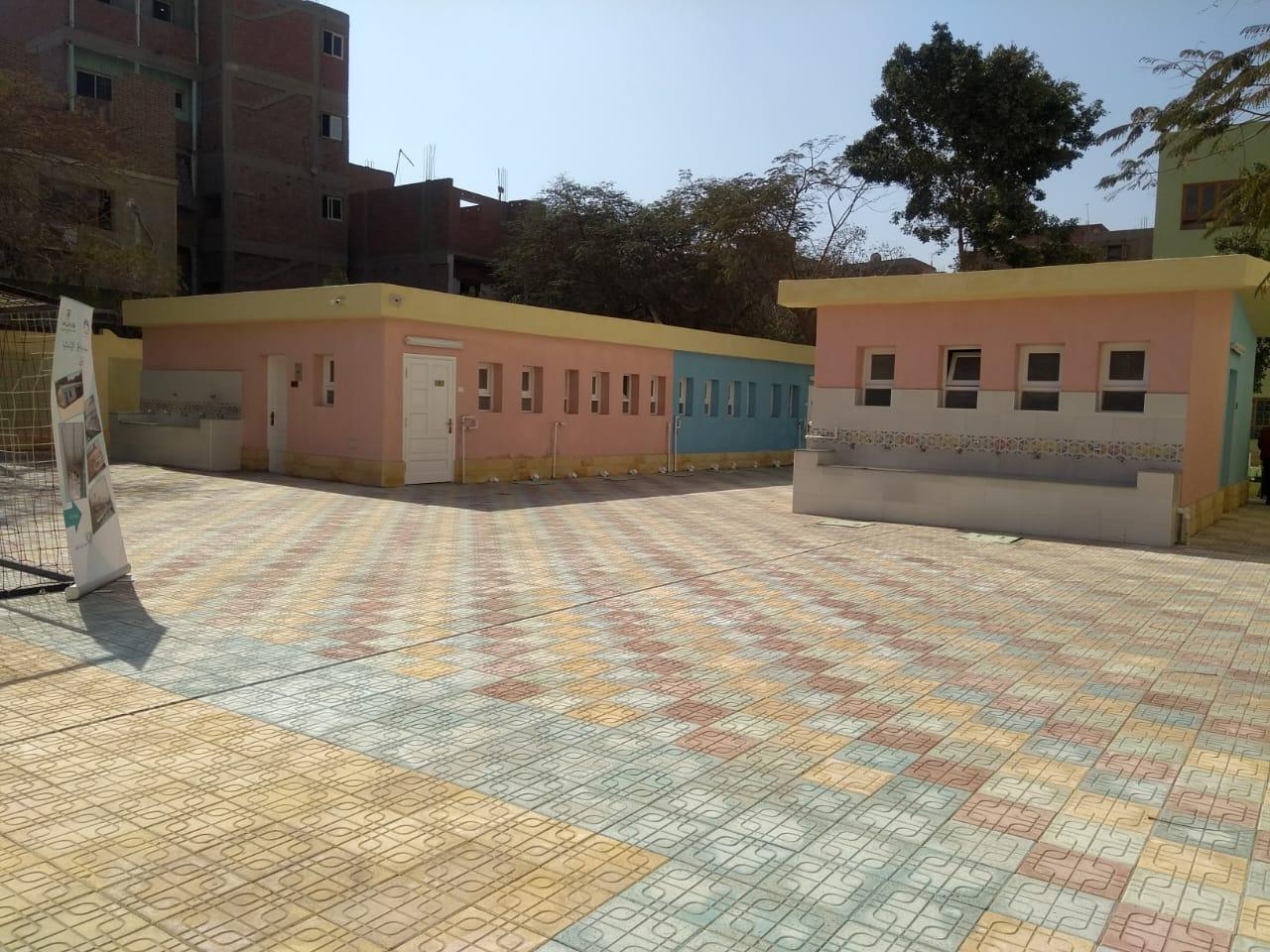 افتتاح مدرسة كفر العلو بحلوان (1)