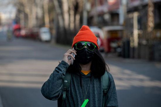 مواطنة فى بكين