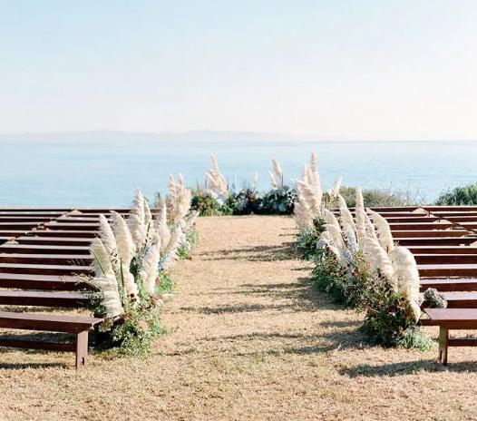 زفاف على الشاطىء