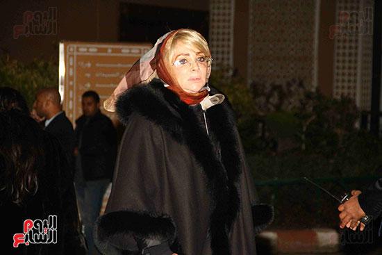 عزاء نادية لطفى (34)