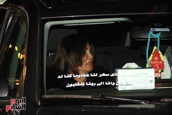 عزاء نادية لطفى (16)