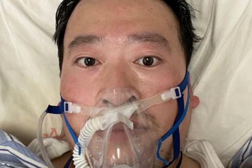 نتيجة بحث الصور عن الطبيب الصيني لي وين ليانغ