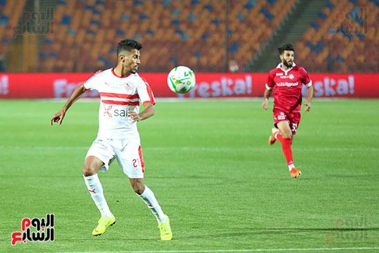 محمد أوناجم في مباراة حرس الحدود