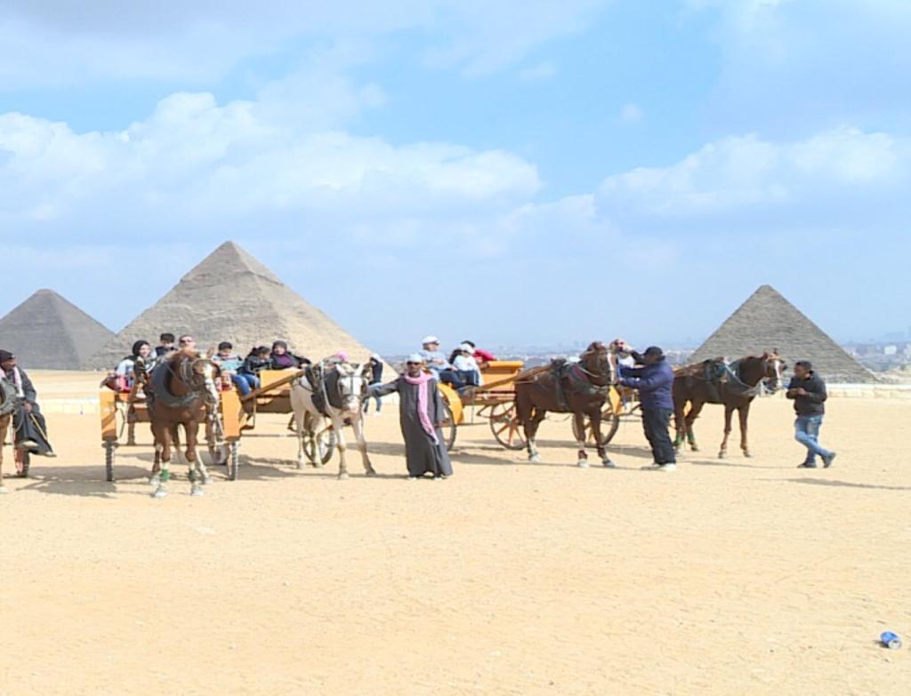 أبناء شهداء الشرطة في رحلة إلى الأهرامات (3)