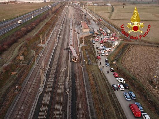 حادث-القطار-فى-ميلانو