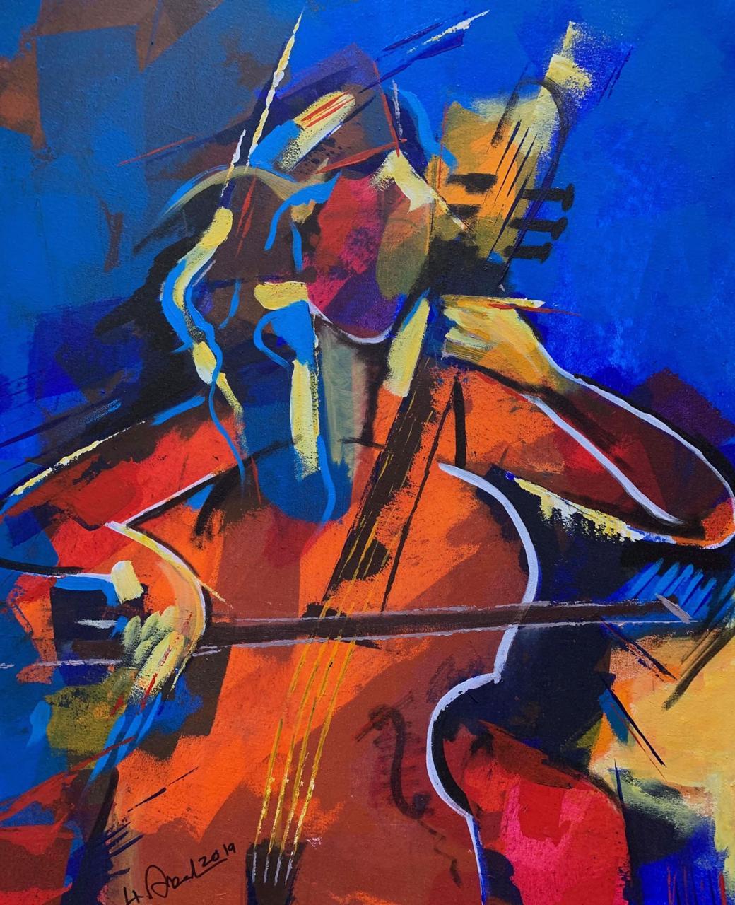 عمل فنى بمعرض هوى للدكتور هانى عبدالبديع (5)