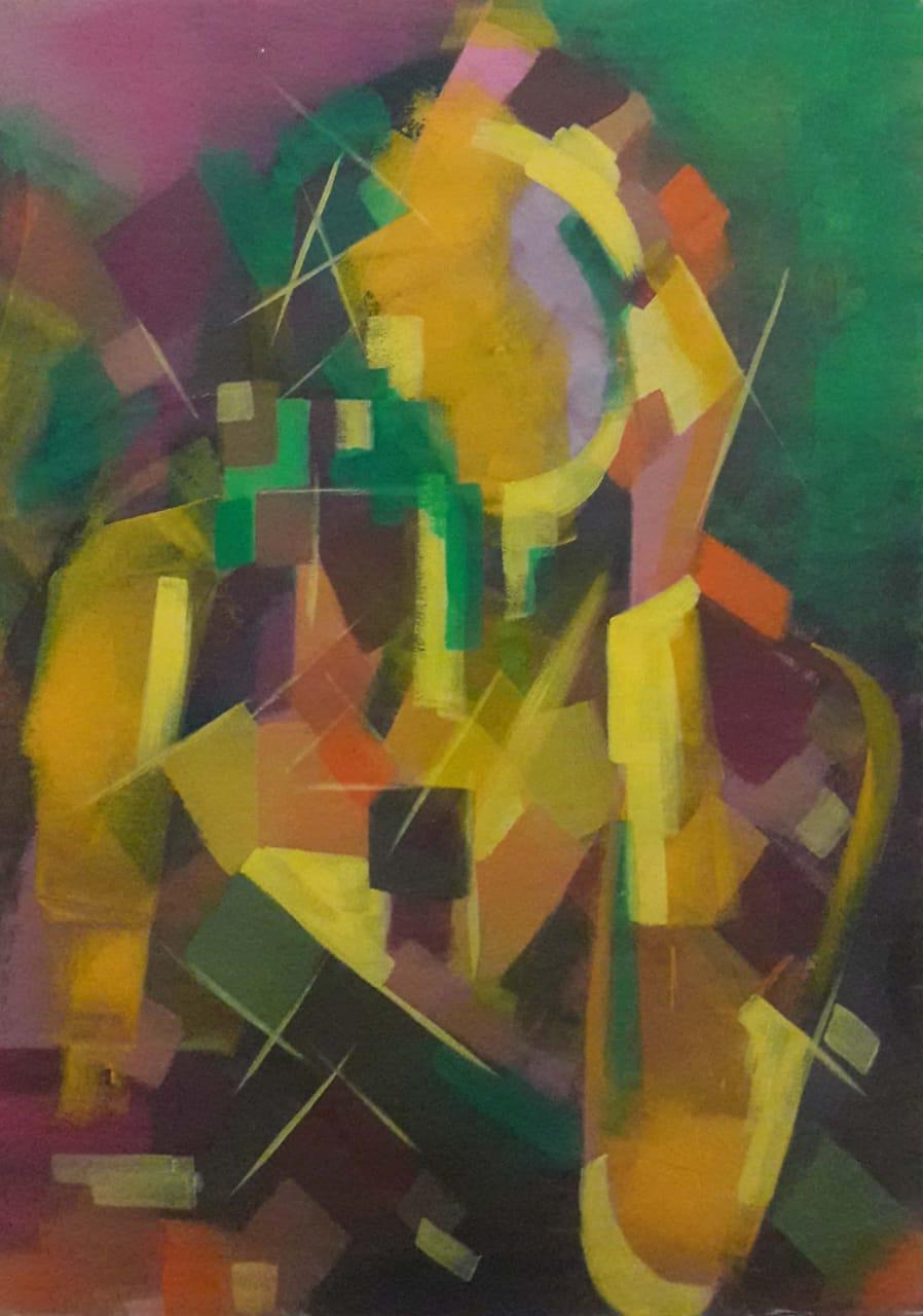 عمل فنى بمعرض هوى للدكتور هانى عبدالبديع (7)