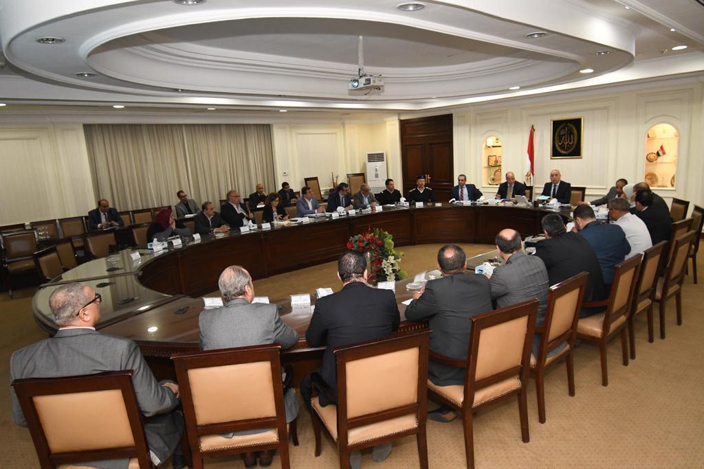 اجتماع مسئولوا وزارة الإسكان ومحافظة القاهرة لتطوير مثلث ماسبيرو