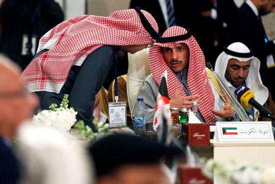 مرزوق الغانم رئيس مجلس الأمة الكويتى