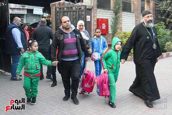 اصطحاب التلاميذ إلى المدارس