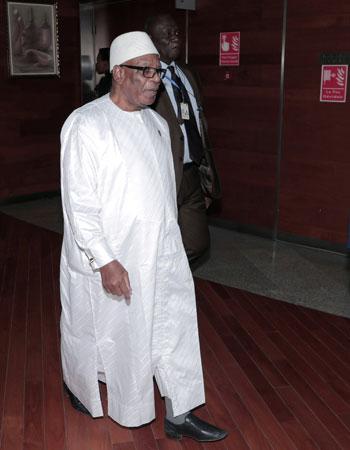 رئيس مالي إبراهيم بوبكر كيتا
