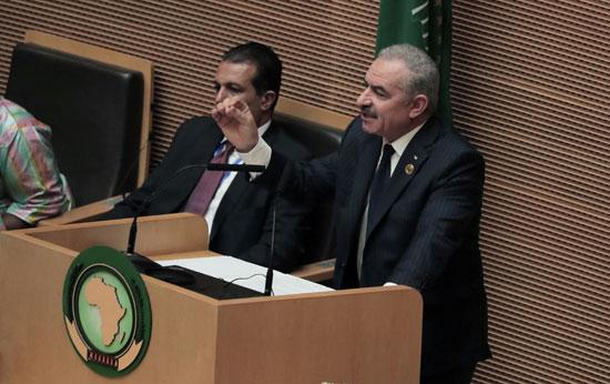رئيس الوزراء الفلسطينى محمد شتية